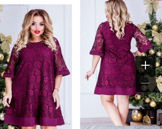 617de3e8c8ec0a4 Платье новое гипюровое р.56-60, цена 2 000 руб. / Женская одежда и ...